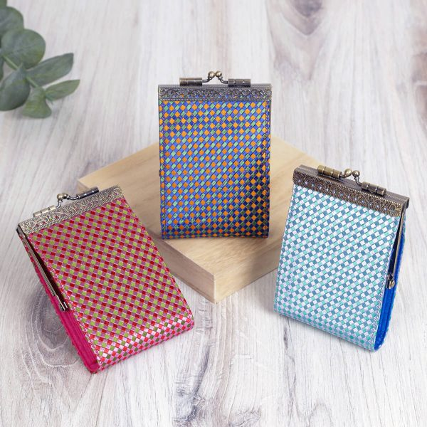 Small Checker Pattern, Card Holder with RFID