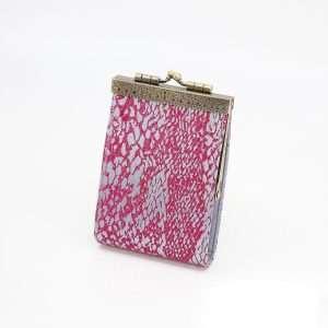 Animal Skin Prints Brocade Card Holder with RFID Protection